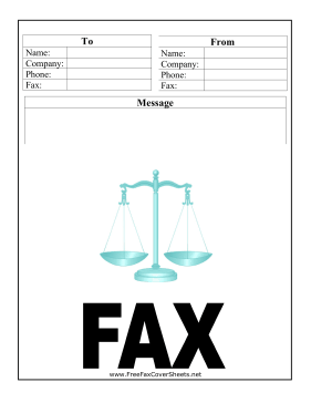 Law Firm Fax Cover Sheet Fax Cover Sheet At