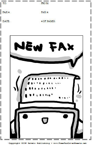 cartoon  32 fax cover sheet at freefaxcoversheets net