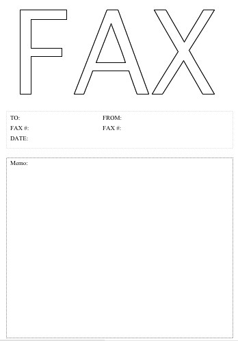 Printable Fax Cover Letter Template | Cover Letter Sample 2017